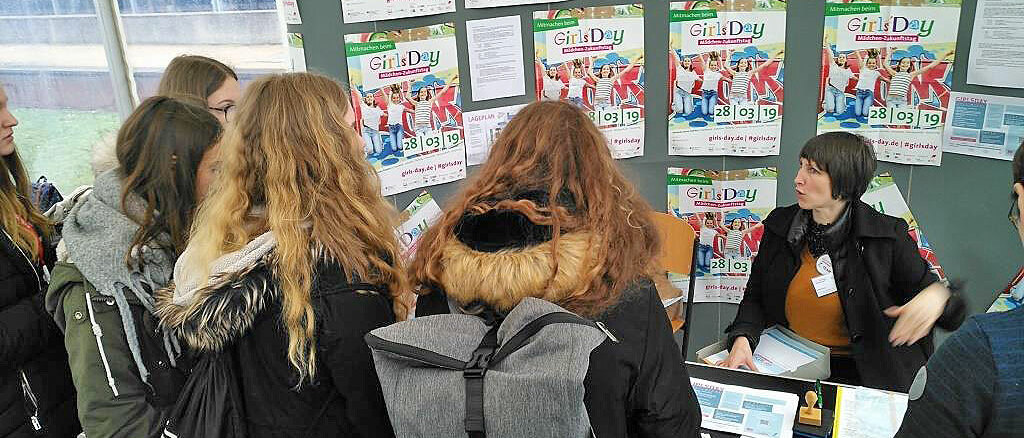 Infostand Girlsday 2019