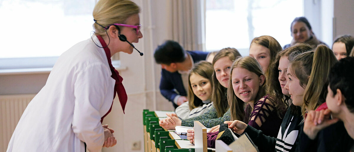 Girlas Day Schauvorlesung Physikanten